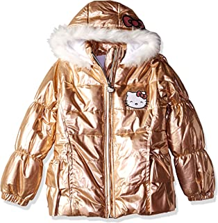 f695c639bf4 ... Recreation Down & Alternative Outerwear · Hello Kitty Girls Puffer  Jacket with Hood