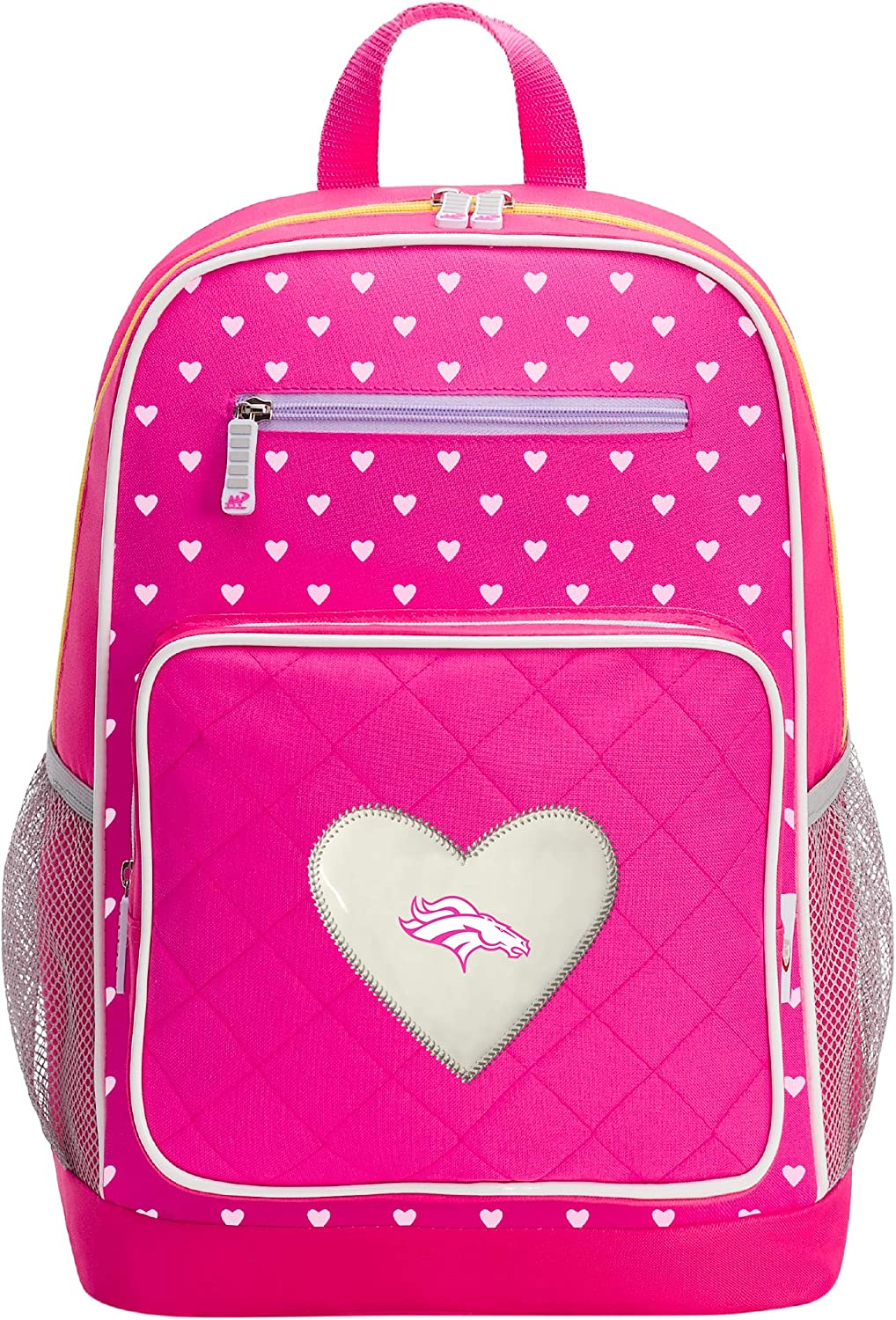 Officially Licensed NFL Fanclub Backpack, Pink, 18  x 5  x 13
