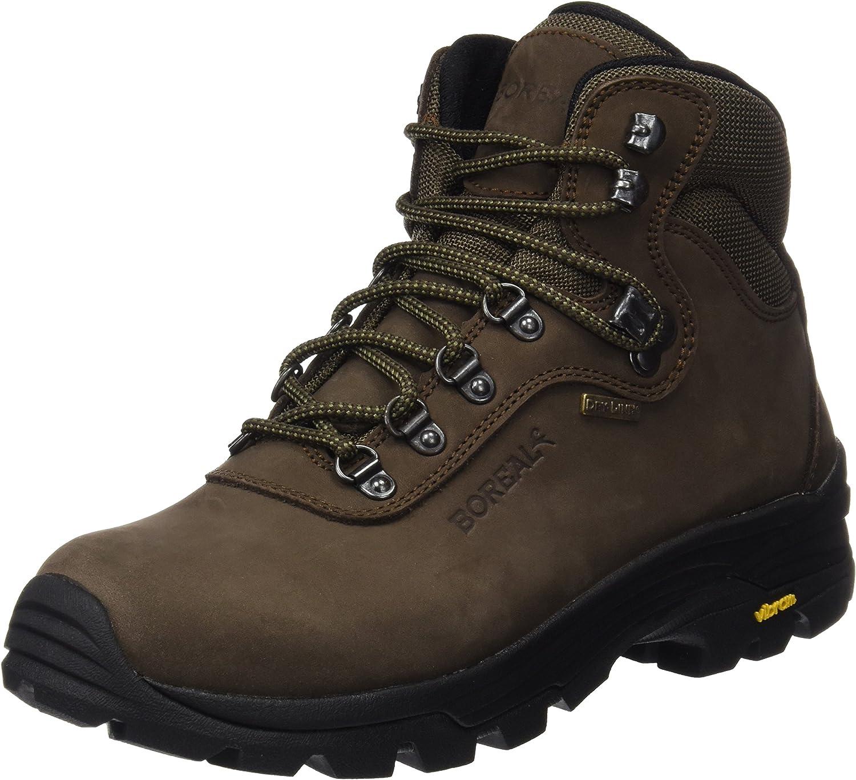 Boreal Climbing Boots Mens Lightweight Rubber Pointer 40 Brown 47113