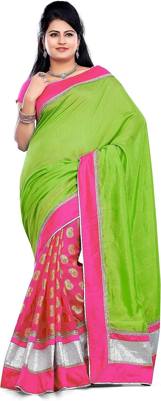 Vihaan Impex Indian Sarees for Women Indian Dresses for Women Bollywood Designer Sari Dress for Weddings Partywear