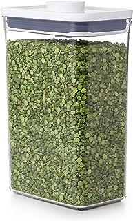 OXO Good Grips Boîte de conservation POP – Rangement alimentaire hermétique et empilable - 2,6 l pour riz et autres