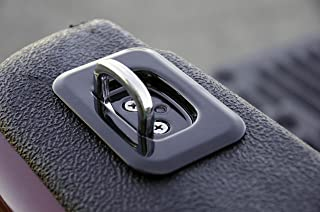 Erickson 01009 Black Flip-Up Stake Pocket Anchor,  2 Pack