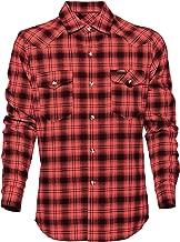 West Coast Choppers Shirt Script Workshirt Red