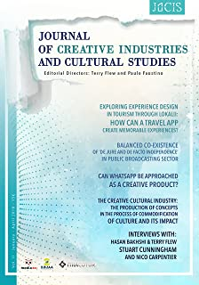 JOCIS - Journal of Creative Industries and Cultural Studies (Vol II) (Volume Book 2)