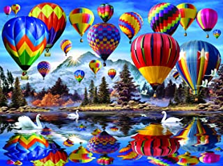 Hot Air Balloons 1000 Piece Jigsaw Puzzle by SunsOut