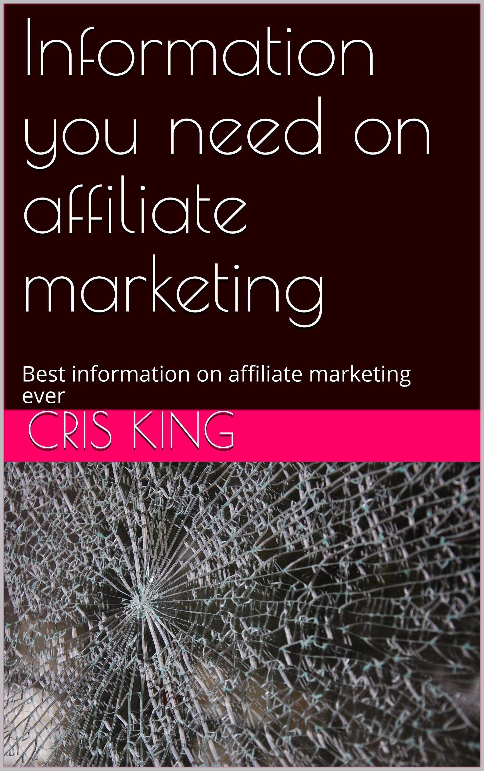 Information you need on affiliate marketing: Best information on affiliate marketing ever