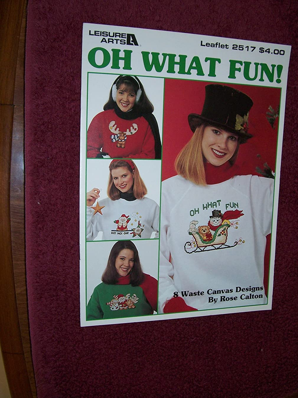Oh What Fun Counted Cross Stitch Charts