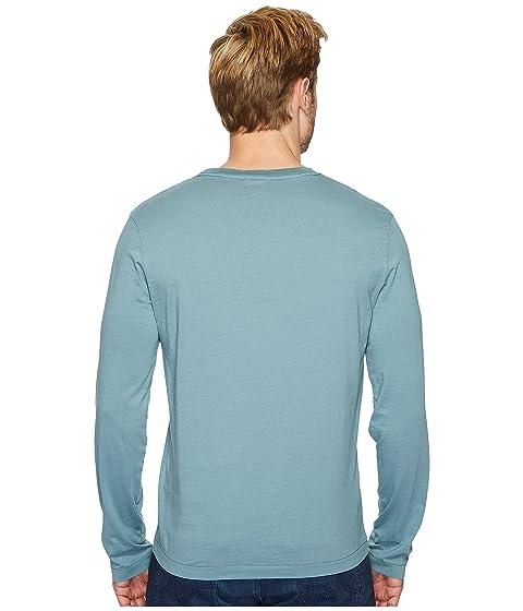 redondo de Oasis Mod con camiseta Carlsbad o manga doc cuello larga camiseta wqqvACPxI