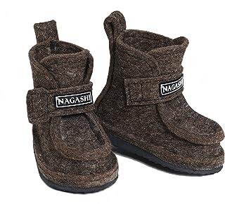أحذية ثلج شتوية للأولاد والبنات الصغار في الهواء الطلق موسم 2020 دافئة للغاية 100% صوف طبيعي