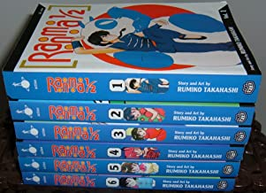 Ranma 1/2 Unboxed Set Volumes #1-6 Action