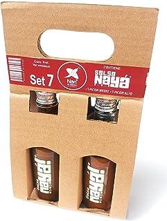 Nayá - 2 salsas (1 Picor Medio + 1 Picor Alto). SET #7.