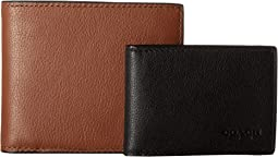 Leather 3-in-1 Wallet Set