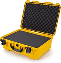 Nanuk 940 Waterproof Hard Case with Foam Insert - Yellow - Made in Canada