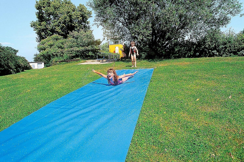 Sport Thieme Wasserrutschbahn für Kinder und Erwachsene im Garten   Premium Qualitt aus reifester, strapazierfhiger Folie (1mm Plane)   Anschluss für Gartenschlauch zur Berieselung 1 2