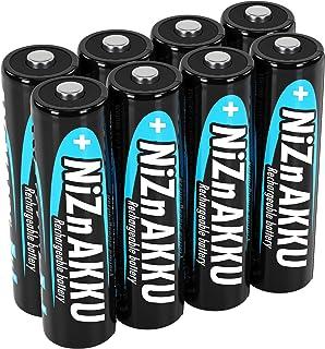 ANSMANN Nikkel-zink batterij AA 1,6 V 1600 mAh (2500 mWh) Mignon NiZn/Ni-Zn Accu AA oplaadbare batterijen AA - vervanging ...