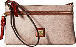 Dooney & Bourke Pebble Tech Top Zip Pouch
