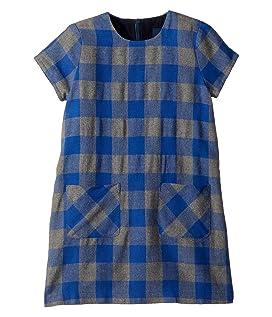 Flannel Check Shift Dress (Toddler/Little Kids/Big Kids)