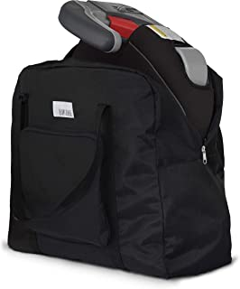 Birdee Backless Booster Seat Travel Bag for Airplane Gate Check and Carrier for Travel