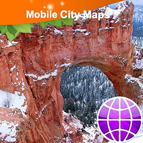 Bryce Canyon National Park Street Map