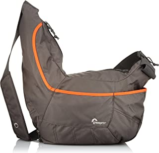 Lowepro Passport Sling Iii for Your Camera Space for Your Personal Gear Space for Your Tablet, Grey/Orange, (LP36658-0WW)