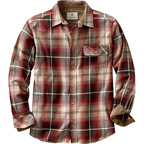 b8ac7de09ed6 Legendary Whitetails Men s Buck Camp Flannel Shirt