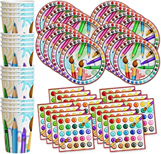 Best painting birthday party supplies Reviews