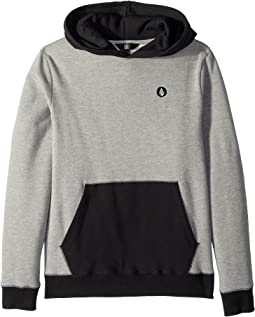 Volcom Kids - Single Stone Division Pullover Hoodie (Big Kids)