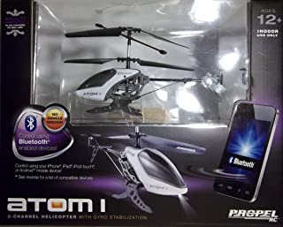 Propel RC Atom 1 Helicopter with Gyro Stabilization and Bluetooth Control