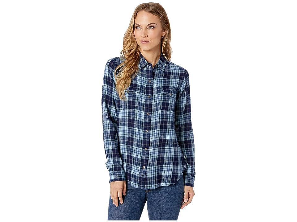 Toad&Co Indigo Skye Long Sleeve Shirt (Dark Indigo) Women