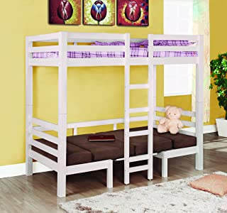 Best coaster twin over twin convertible Reviews