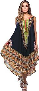 African Print Dashiki Dress for Women