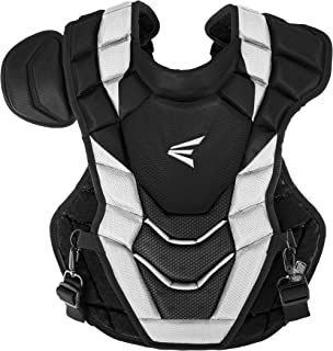 EASTON PRO X Baseball Catchers Chest Protector, 2021, Double Layer Design with EVAIR Foam, 4 Point Strap System with Neopr...