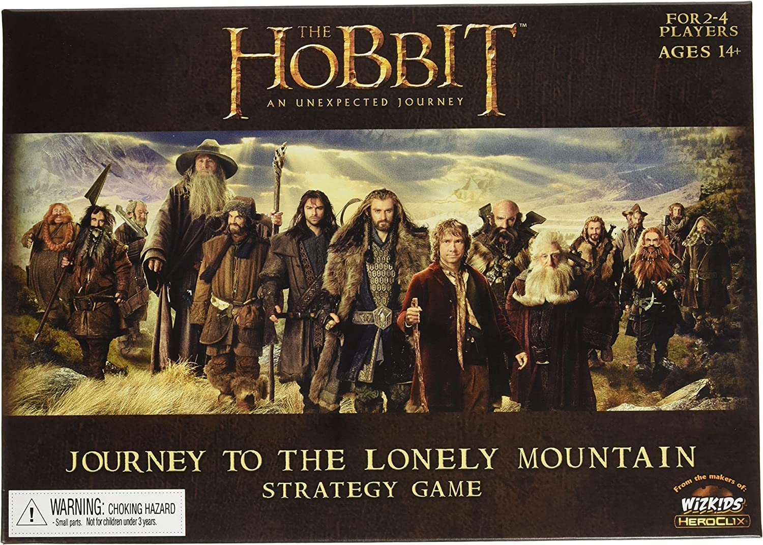 WizKids Hobbit shopping Journey to The 70% OFF Outlet Game Board Lonely Mountain