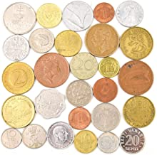 Lot of 28 Different Coins from Each European Union Country (Pre-Euro Collection). Collectible Coins, Old Coins for Your Coin Album, Coin Bank or Coin Holders