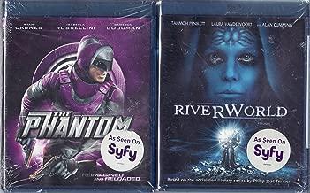 Riverworld / The Phantom LIMITED EDITION Blu-ray 2 Pack - SyFy Channel