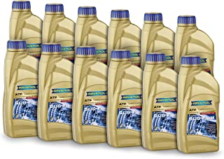 Ravenol J1D2177-12 ATF (Automatic Transmission Fluid) - SU5 Fluid Full Synthetic for Subaru ATF HP, 4ATF, 5ATF (1L, Case of 12)
