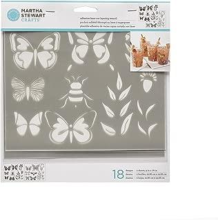 Martha Stewart 17633 Layering Butterfly Stencil