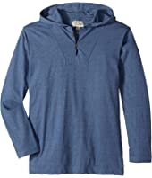 Lucky Brand Kids - Long Sleeve Popover Hoodie (Big Kids)