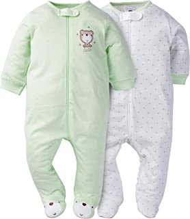 Gerber Baby Girls' 2-Pack Sleep 'N Play