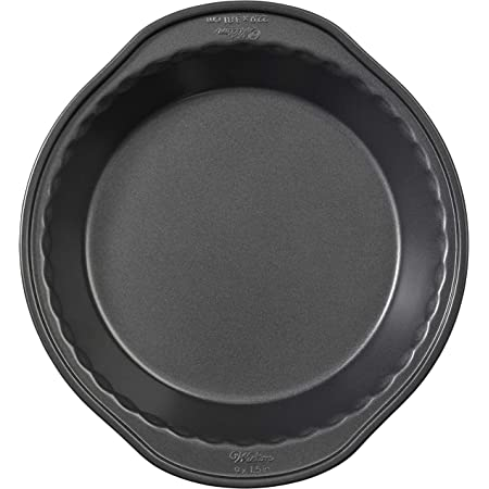 Wilton Perfect Results Nonstick Round Cake Pan, 9 by 1.5-Inch, Silver