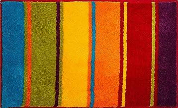 Grund Bath Mat, Ultra Soft and Absorbent, Anti Slip, 5 Years Warranty, Summertime, Bath Mat 65x115 cm, Multicolour