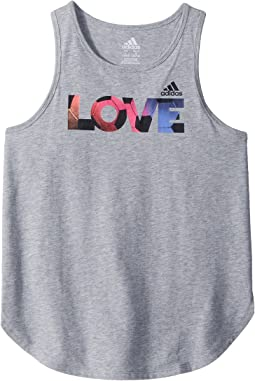 adidas Kids Lapped Runner Tank Top (Big Kids)