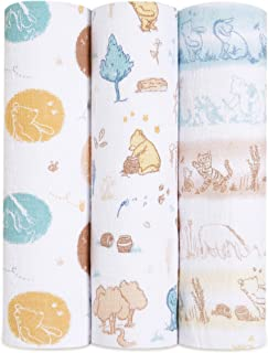 aden + anais 100% Cotton Muslin Swaddle & Receiving Blankets for Baby Girls & Boys, 120x120cm, Ideal Newborn & Infant Swad...
