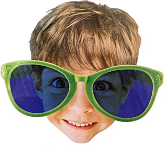 Large Novelty Glasses Party Costume Accessory Fun Kids and Adults, hilarious giant sunglasses, great for beach parties, ki...