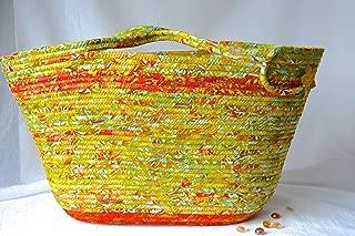 Unique Fall Handbag, Handmade by Wexford Treasures, Unique, Designer Batik Tote Bag,