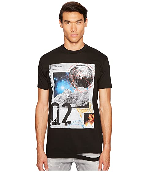 DSQUARED2 Scrapbook Print T-Shirt