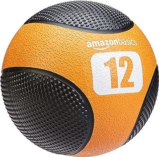 AmazonBasics Double Grip Type Medicine Ball,  12-lb