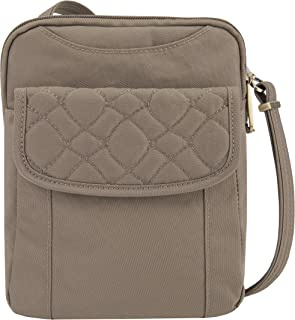 Travelon Anti-theft Signature Quilted Slim Pouch Bag