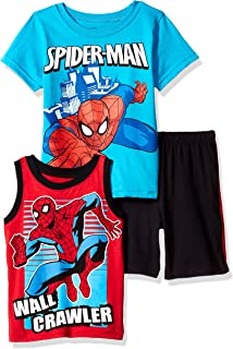 f70e3c58 Amazon.com: Spider-Man - Short Sets / Clothing Sets: Clothing, Shoes ...