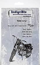 """IndigoBlu Cling Mounted Stamp 5""""X4""""-Ride Long"""